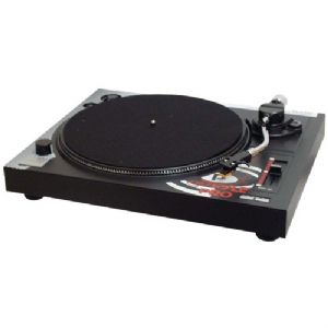 BELT DRIVE TURNTABLE WITH PITCH CENTER