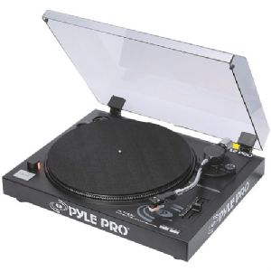 Pyle PLTTB3U Belt Drive USB Turntable wi