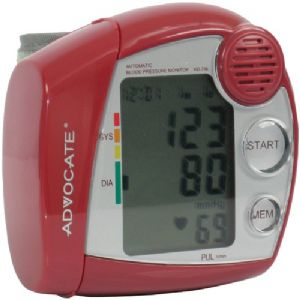 SPEAKING WRIST BLOOD PRESSURE MONITOR