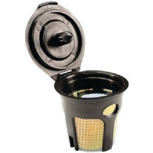 24K-PLATED REFILLABLE FILTER CUP FOR KEU