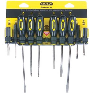 10-PIECE STANDARD-FLUTED SCREWDRIVER SET