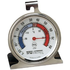 FREEZER-REFRIGERATOR THERMOMETER