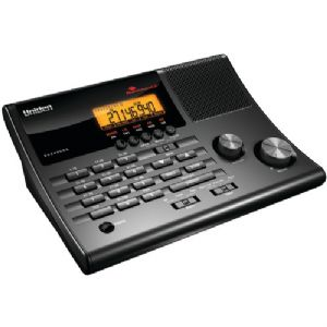 100-CHANNEL CRS CLOCK RADIO BASE SCANNER