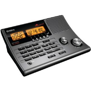 300-CHANNEL ALL-HAZARD CRS CLOCK RADIO S