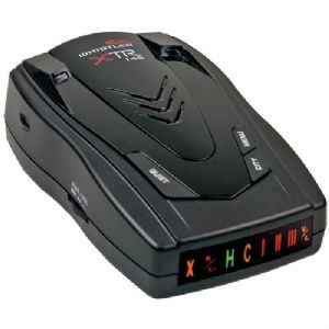 RADAR/LASER DETECTOR WITH LOW-PROFILE PE