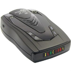 BATTERY-OPERATED RADAR/LASER DETECTOR WI