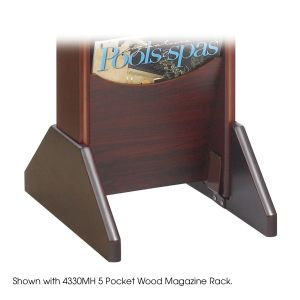 Wood Display Base - Mahogany