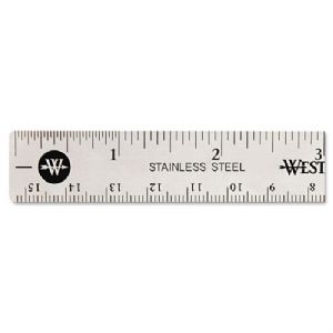 RULER,STAINLESS STEEL,6