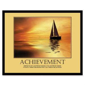 POSTER,ACHIEVEMENT,FRAMED