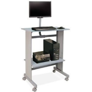 WORKSTATION W/LCD MOUNT
