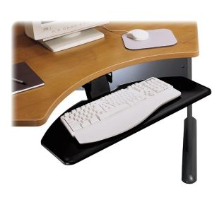 KEYBOARD SHELF,ARTIC,BK