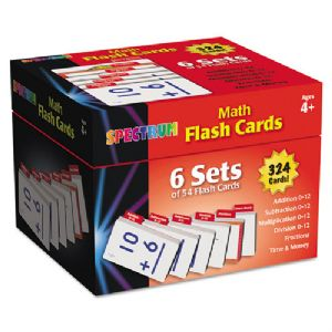 FLASH CARDS,SPECTRUM,MATH