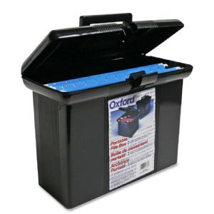 FILE PORTABLE BOX BK