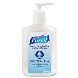 SANITIZER,LOTION,MOIST,8OZ