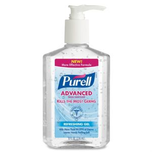 SANITIZER,HAND,PURELL,8OZ