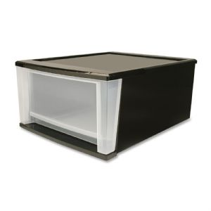 DRAWER,STACKING,4.25GAL,BLK