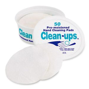 PADS,CLEANING,F/HANDS,50CT
