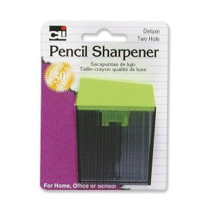 SHARPENER,PNCL,2HOLE,1PK