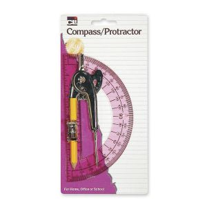 SET,COMPASS &amp; PROTRACTOR