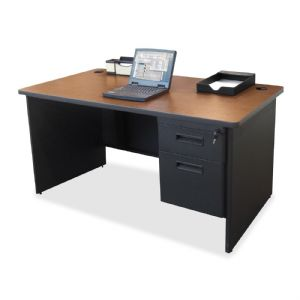 DESK,SNGL PED,CY/CCL,60