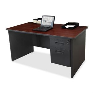 DESK,SNGL PED,MY/CCL,60