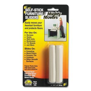 CASTER,SLIDE,STRIPS,4/PK