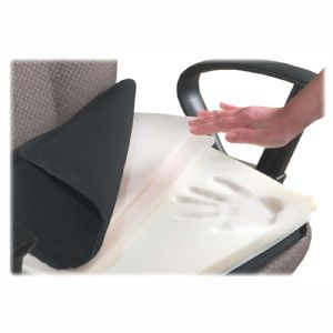 CUSHION,SEAT,MEMFOAM,BK