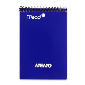 BOOK,MEMO,TOP,4X6,AST40CT