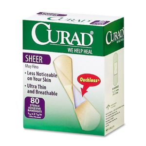 BANDAGE,CURAD SHEER 3/4,80