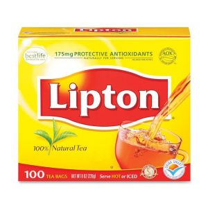 TEA,LIPTON,REGULAR,100PK