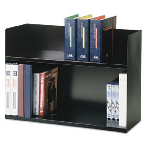 RACK,BOOK,2-TIER,BLK