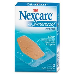 BANDAGES,WATERPROOF,CLR