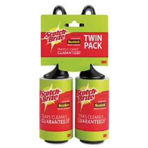 LINT ROLLER,TWIN PACK,