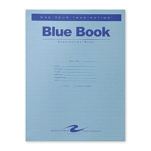 BK,BLUE EXAM,11X8.5,16PG