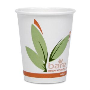 CUP 10OZ PCT BARE PAPER HOT