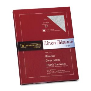 PAPER,RESUME,LINEN,32#,GY