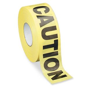TAPE,CAUTION,3'X1000'
