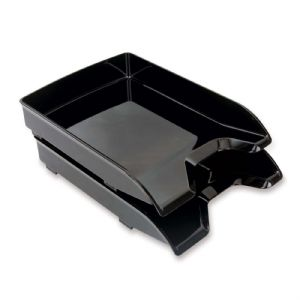 TRAY,LETTER,2PK,BLK