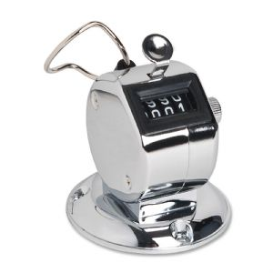 COUNTER,TALLY,W/BASE,SILVER