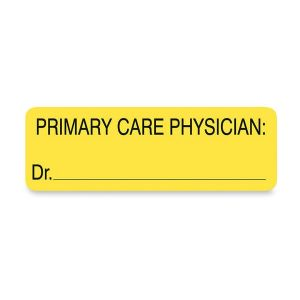 LABEL,PRIMARY CARE PHYSICIA