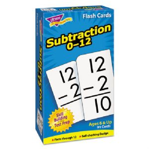 CARD,FLASH,SUBTRACTION,0-12