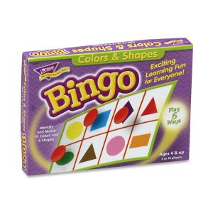 BINGO,COLORS/SHAPES