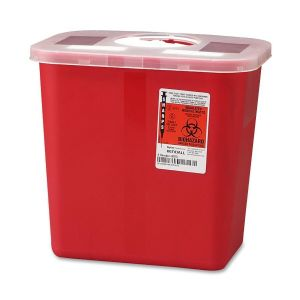 CONTAINER,SHARPS,ROTOR,2GAL