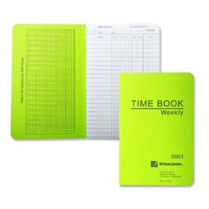 BOOK,TIME,WKLY,6.75X4-1/8