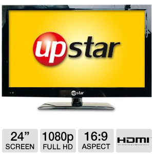 "UpStar P24EWT 24"" 1080p LED HDTV"