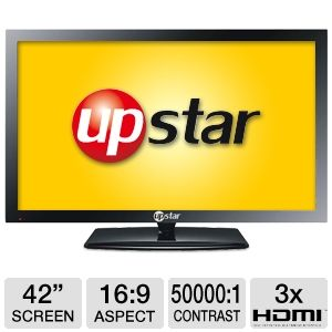 "UpStar P42EWT 42"" 1080p 60Hz LED HDTV"