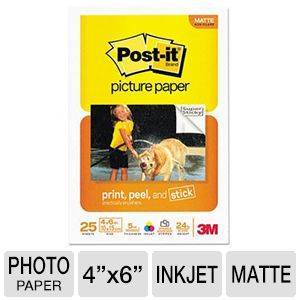 Innovera MMMSP4625 Matte Post-it Picture Paper