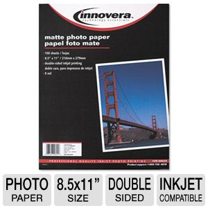 Innovera IVR99625 Double-Sided Photo Paper