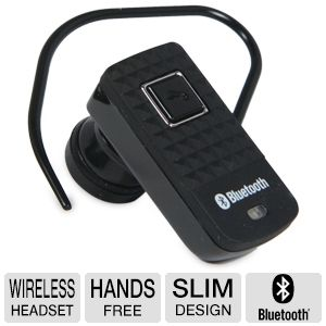 Premier PBT-M2 Bluetooth Wireless Headset 