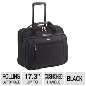 Solo Rolling Laptop Portfolio Case
